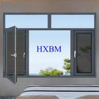 Double Glazed Aluminum Casement Windows With Good Air Tightness And Water Tightness Manufactures