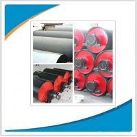 Conveyor discharge rubber coated drum pulley,drive pulleys for belt conveyor Manufactures