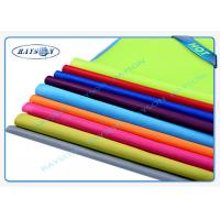 Green Panton Matched PP Spunbond Non Woven , PPSB Non Woven Textile Packaging Manufactures
