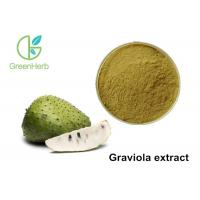 High Pure Herbal Plant Extract / Graviola Fruit Extract Powder Non - Irradiated Manufactures