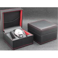 Eco - Friendly Plastic Watch Box PU Leather Outside Waterproof Environmentally Friendly Manufactures