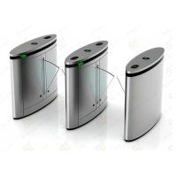 OEM Access Control Automatic Turnstiles Flap Or Wing Barrier For Metro Manufactures