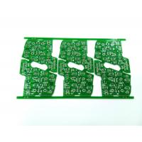 Green 2 Layers Automotive PCB Foot Rest Board 1OZ 1.6 Mm HASLPCB Manufactures