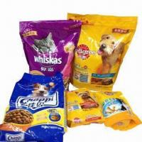 PET Flexible Food Packaging/Pouch with Zipper, Laminated and Printed Manufactures