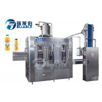China Rotary Type Vegetable Bottling Juice Equipment Beverage Bottle Filler Machine on sale