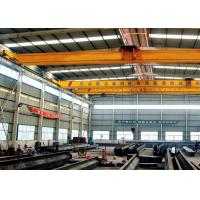 Single Beam Travelling Overhead Crane , Low Headroom Bridge Crane With End Carriages Manufactures