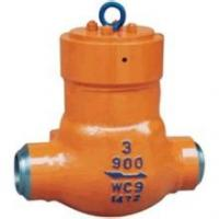 China Alloy Steel API6D Flanged Check Valve Class 900 Butt Weld Check Valve on sale