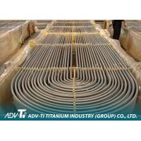 ASTM B338 GR2 titanium seamless tube / Seamless Titanium Pipe for condensor Manufactures