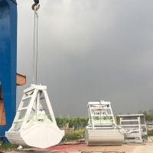 5 Cubic Remote Control 2 Peel Hydraulic Grab Bucket Manufactures