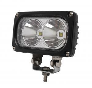 30W / 6000K Cree LED Driving Lights 3000lm Flood Spot Beam Led Off Road Lights Manufactures