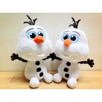 Lovely Disney Plush Toys Disney Frozen Olaf Stuffed Animal , 7 inch Bead Head Manufactures