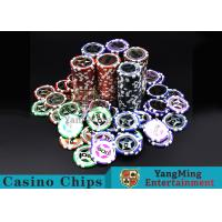 Buy cheap Eco 12g Clay Poker Chips With Ultimate Sticker , 40mm Diameter from wholesalers