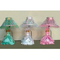 China Green Antique Porcelain Doll For Female Decorative Table Lamps on sale