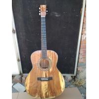 AAAA handmade all Solid apple wood guitars OM body guitar imported wood soundhole EQ acoustic electric guitar Manufactures