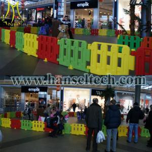 China Hansel stuffed animal ride electric big ride-on horse on sale