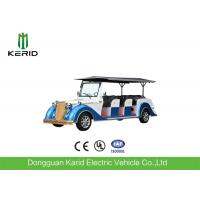Battery Operated Vintage Electric Car , 8 Seater Electric Passenger Vehicle With Sunshade Manufactures