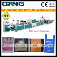 ONL-B 700-800 Manual non woven fabric bag making machine price Manufactures