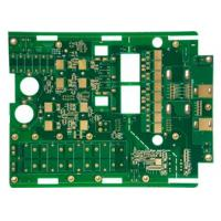 Red Solder Mask Heavy Copper PCB High Current Custom PCB Manufacturer Manufactures