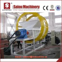double shaft tire shredding machine Manufactures