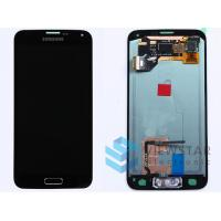 Black Samsung Galaxy S5 LCD Screen Cell Phone Digitizer With Home Button Manufactures