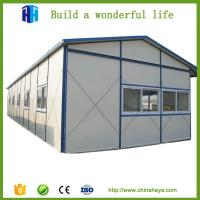 China widely used movable house steel frame homes for worker's dormitory on sale