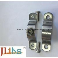 China Flexible Coupling Pipe Clamp Bracket Stainless Steel P Pipe Clamp For Water Pipeline on sale