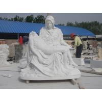 China Double marble Carving statues on sale