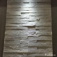 Fireproof Natural Slate Mini Stone Panels For Indoor / Outdoor Wall Decor Manufactures