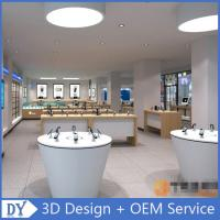 mobile phone shop decoration showcase cell phone store design Manufactures