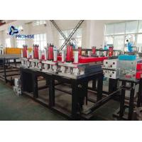 3 Phase Plastic Sheet Extrusion Machine PVC Powder Conical Twin Screw Manufactures