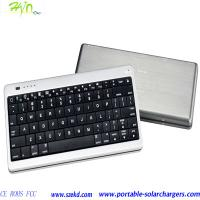 China Bluetooth Keyboard Protable Mobile Phone Charger Station 10000mAh Polymer Batteries on sale