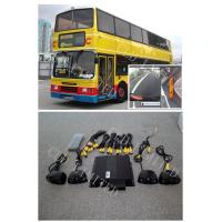 360 Degree Around View Bus Camera Systems 520TVl HD  CCD Sensor,four-way DVR in Real Time Manufactures