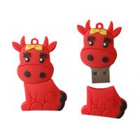 China Cute Awesome Simple And Honest OX Cartoon USB Flash Drive 16GB  / USB Memory Stick on sale