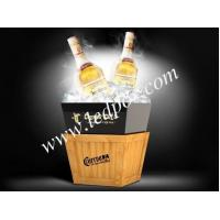 LED Luminous Acrylic Wooden Buckets