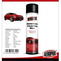 China Glossy Finish Car Interior Cleaning Products Spray Wax For Cockpit / Dashboard on sale
