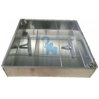 Silver Color Metal Drain Grate Water Drain Box For Construction Ground Manufactures