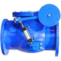 China Flange Connections Swing Check Valve , Non Return Valve With Resilient / Metal Seated on sale