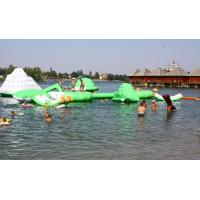 Commercial Inflatable Water Park /  Floating Water Playground For Adults Or Children Manufactures
