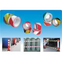 High Strength / Alkli Resistant PE Warning Tape For Road Traffic Signs Manufactures