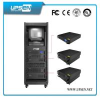 LCD Display Rack Mountable Online UPS with 2u 3u 5u Height and Internal Battery for Servers Manufactures