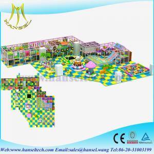 Hanselindoor playground equipmentsindoor soft play slides amusement park games factory Manufactures
