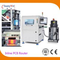 China Automatic Production Mode Inline PCB Separators With Automatic Tool Changer on sale