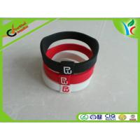 Quality Eco-friendly Silicone Energy Bracelet Power Warriors With Glittering Holograms for sale