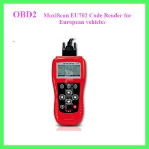 MaxiScan EU702 Code Reader for European vehicles Manufactures