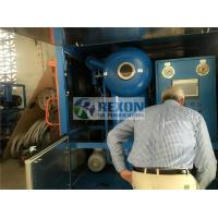 Weather Proof Type High Efficiency Vacuum Transformer Oil Purifier Machine for Power Plant Maintenance Manufactures