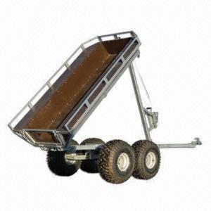 China Cargo ATV tralier, box trailer, 750kg loading capacity on sale