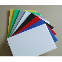 SC Extruded Industrial Engineering Plastics , Assorted Colorful POM Sheet Manufactures