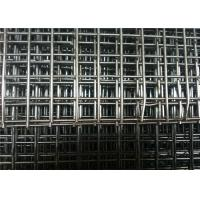 Flat Surface Powder Coated Wire Mesh Panels , Welded Fence Panels For Construction