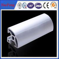 anodizing Industrial aluminum profile for cabinet support frame or office desk usage Manufactures