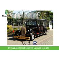 Comfortable 11 Seats Pure Electric Vintage Cars Tourist Vehicles With AC System Manufactures
